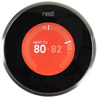Google, T3007ES, Nest Learning Thermostat, 3rd Gen, Smart ...