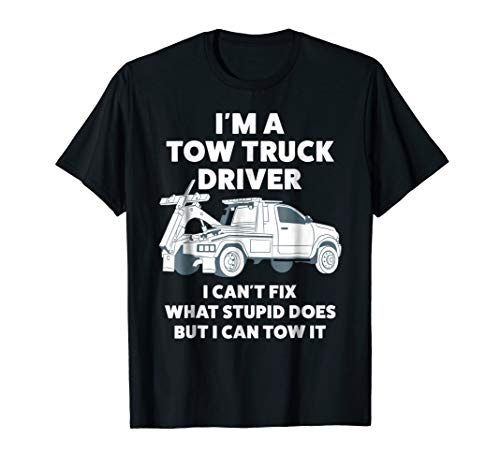 (Tow Truck Driver Shirt For Men)