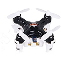 Dayan Anser New!-Cheerson CX-STARS Mini Drones 2.2*2.2CM Super Tiny Drones Mini RC UFO Micro Sized RC Quadcopter (Black)