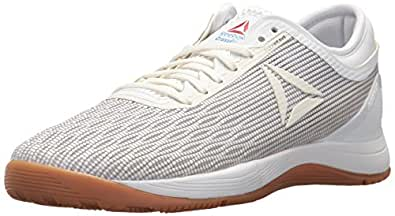 Reebok Women's Crossfit Nano 8.0 Flexweave Cross Trainer, White/Classic White/Excel, 5 M US