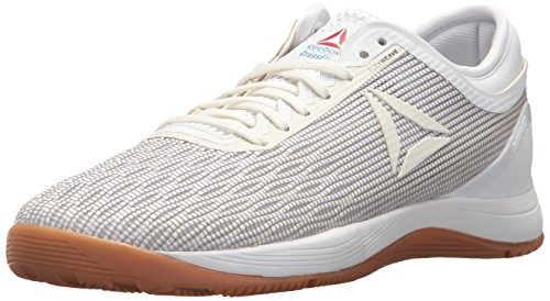 Reebok Women's CROSSFIT Nano 8.0 Flexweave Cross Trainer, White/Classic White/Excel, 8 M US