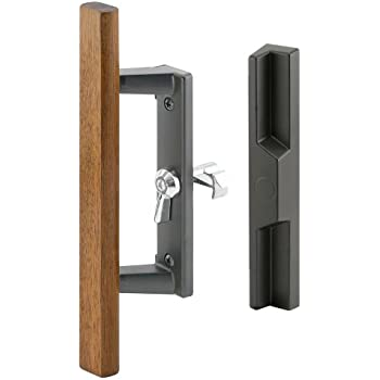 Prime-Line Products C 1106 Diecast Sliding Door Handle Set, Black ...