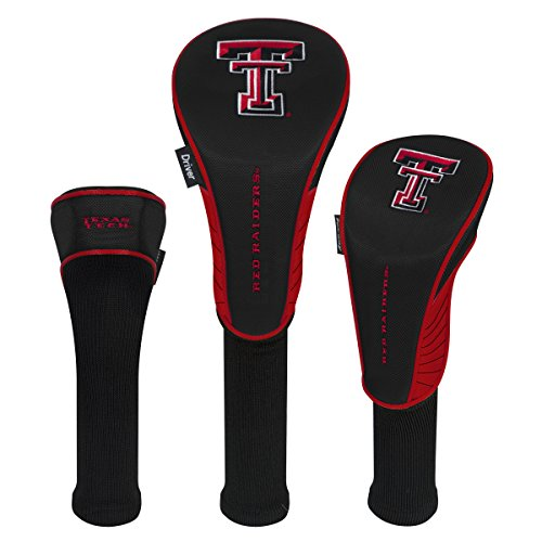 Team Effort Texas Tech Red Raiders Set of Three (Tech Driver Headcover)