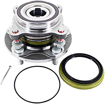 4WD ONLY Pickup Truck Pair 2 Front Wheel Hub and Bearing Assembly for 2008-2018 Toyota Sequoia// 2007-2018 Toyota Tundra Bodeman