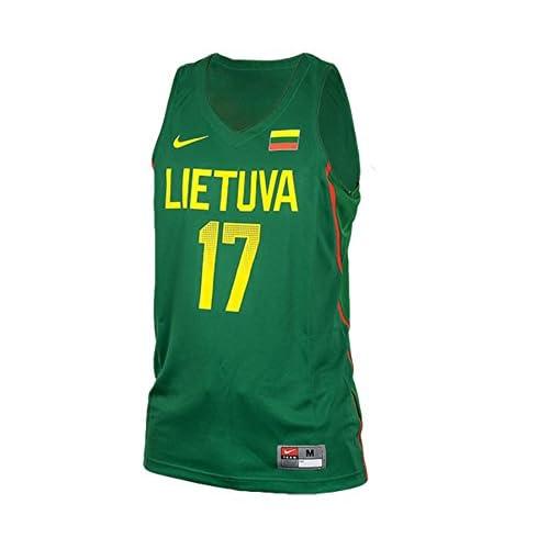 ccb69ea4ded ... new zealand hot sale nike lithuania jonas valanciunas vapor replica  jersey basketball jersey new 819905 302