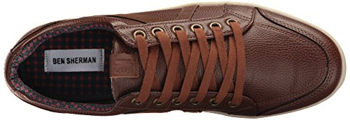 Ben Ben Ben Sherman Brown Mens Mens Sherman Brown Sneaker Fashion Lox Sneaker B B Fashion Lox aaXrfq