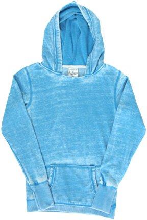 (Ladies ZEN Pullover Hooded Sweatshirt- Oceanberry)