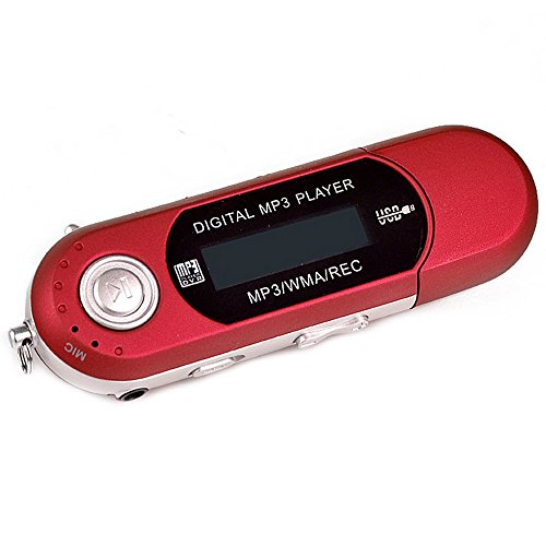 eshion USB WMA MP3 Music Player With LCD Screen Earbud For TF Card/Micr