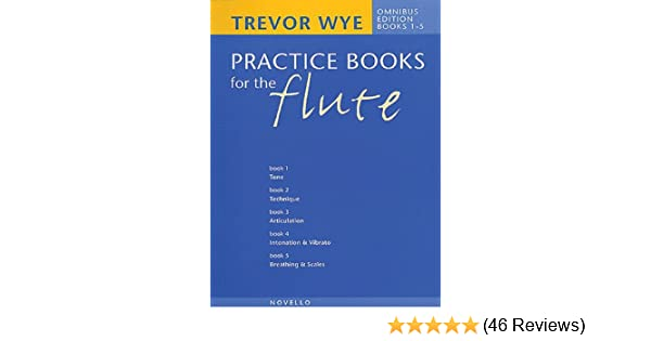 Instruction Books, Cds & Video Trevor Wye Practice Book For Flute Books 1-6 Complete Omnibus Edition Music Book