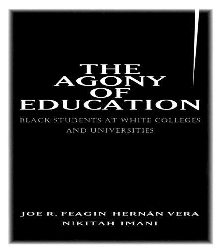 Download The Agony of Education: Black Students at a White University Pdf