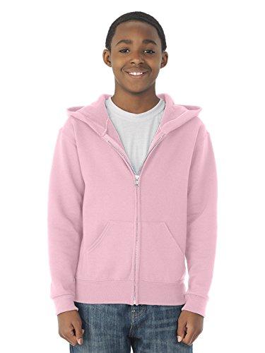 Jerzees Youth 8 oz., 50/50 NuBlend Fleece Full-Zip Hood X...