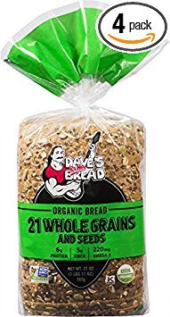 Dave's Killer Bread - 21 Grains - 4 Loaves - USDA ()