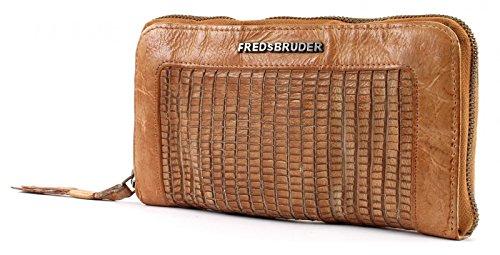 FREDsBRUDER Walky Talky Geldbörse Leder 20,5 cm Caramel