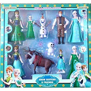 SQUICKLE Characters Snow Sisters and...