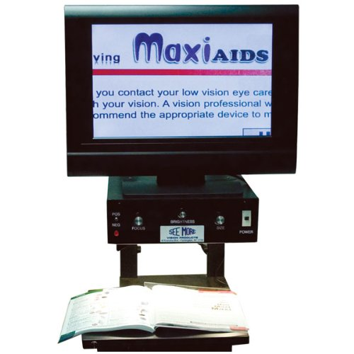 - See-More Simplicity Inline Electronic Magnifier 19in. Color Flatscreen