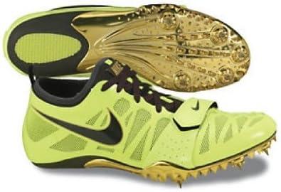 NIKE Zoom Celar 4 Zapatilla Clavos de Running Unisex, Amarillo, 44.5: Amazon.es: Zapatos y complementos