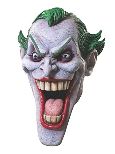Rubie's Dc Heroes and Villains Collection Joker Latex Mask, Multicolored, One Size ()