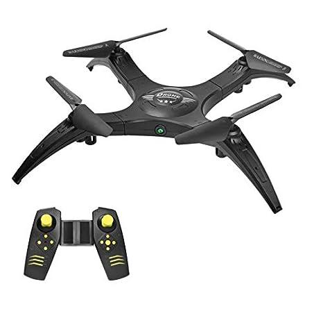 Auto Return Drone, 2.4G WiFi FPV Plegable RC Quadcopter Una tecla ...