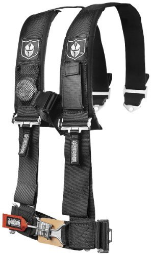 Pro Armor Black 5-Point Harness with 2