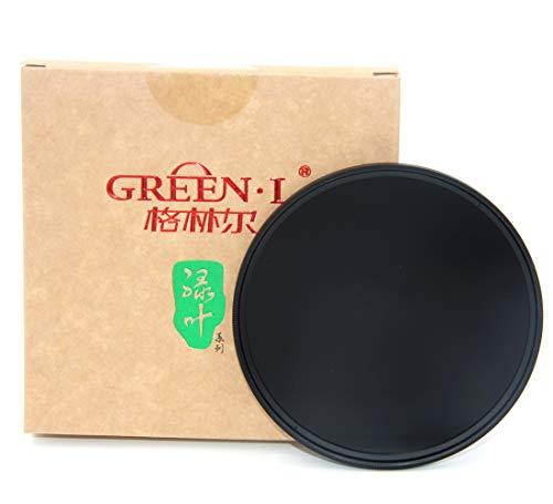 GREEN.L 52mm Slim Neutral Density ND1000 Lens Filter Optical Glass 10 Stop ND1000 52mm