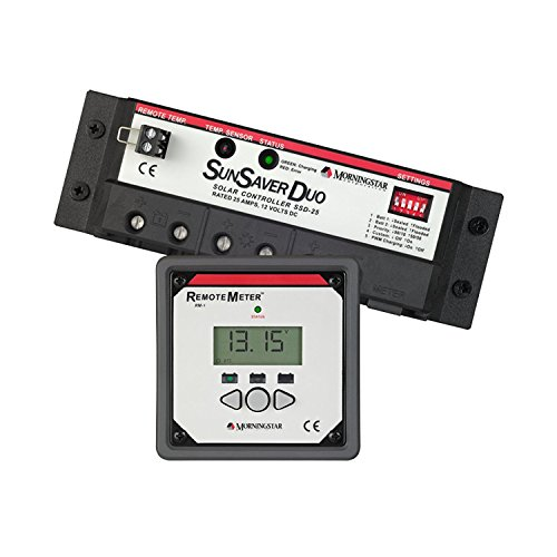 MorningStar SunSaver Duo SSD-25RM with Remote Meter