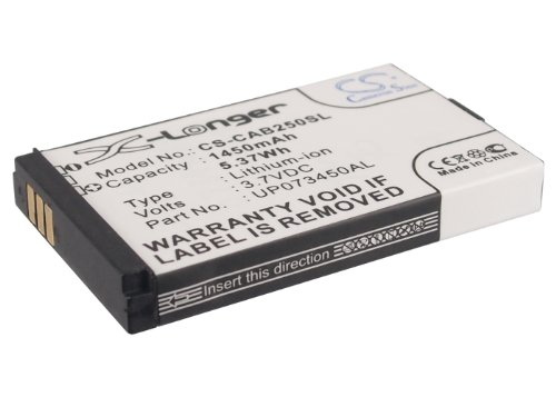 (Extra Longer Capacity Replacement Battery for CAT B25)