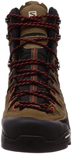 Scarpe Alp Ad Da X Nero Trekking Resistenza Gtx Uomo nero Salomon Ardesia Ltr Fuoco Alta 000 Teak Rosso R5Ipwnx