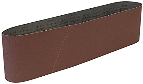 150/x 1220/mm Marron Sealey Sb0018/Grain 100/bandes abrasives