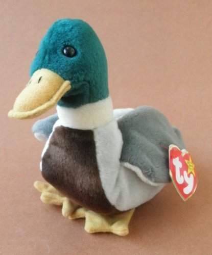 TY Beanie Babies Jake the Duck Plush Toy Stuffed Animal by Unknown
