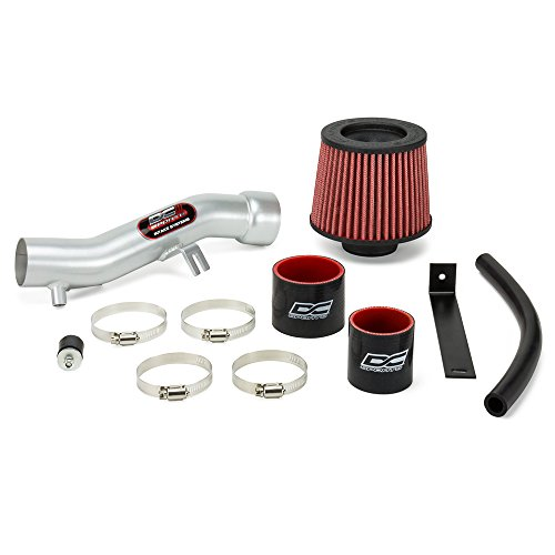 (DC Sports SRI4401 Scion xB Polished Short Ram Intake System with Filter and Installation Hardware)