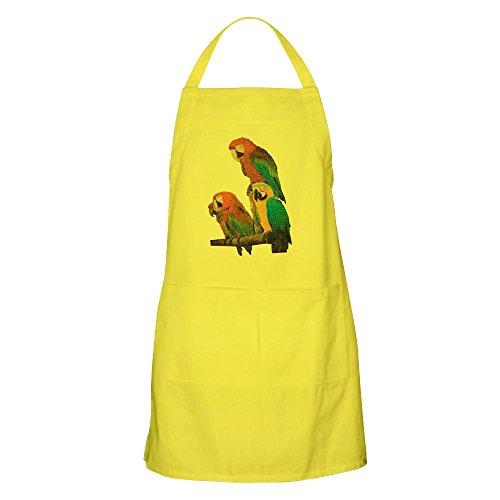 Apron Family of Parrots - Lemon (Parrot Aprons)