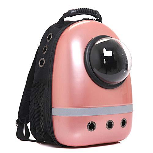 QKEMM Hundetasche Hundetragetasche Katzentragetasche Transporttasche Raumtasche Ausflug Reise Tragbar Transportbox für…