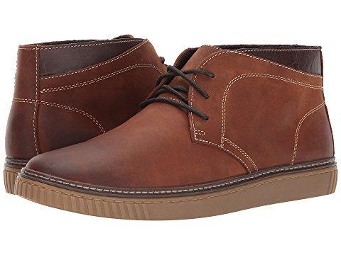 Johnston & Murphy Mens Wallace Chukka Boot Taglia 10 M Stile Castagna # 25-2814
