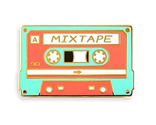 Pinsanity Retro Cassette Mixtape Enamel Lapel Pin