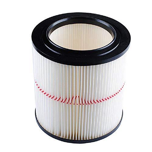 Bysameyee General Purpose Replacement Cartridge Vacuum Filter for Shop Vac Craftsman 17816 9-17816 (Red Stripe) (9-17816)
