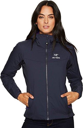 Arc'teryx Women's Atom LT Hoody Black Sapphire Sweatshirt by Arc'teryx