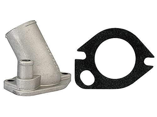 - New Ford Thermostat Housing for 260 289 302 351W V8 Fairlane, Mustang, Maverick, Falcon, Caliente (EBC5OE-8592KT)