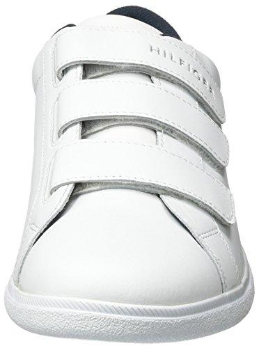 Homme D2285anny White 3a Basses Blanc Baskets Hilfiger Tommy qgwvxOz77