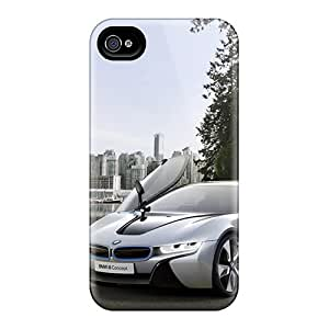 New Fashion Premium Tpu Case Cover For Iphone 5s- Bmw I8 Concept