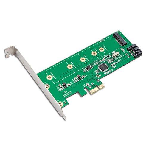 IO Crest SI-PEX50065 M.2 NGFF SSD Card Black