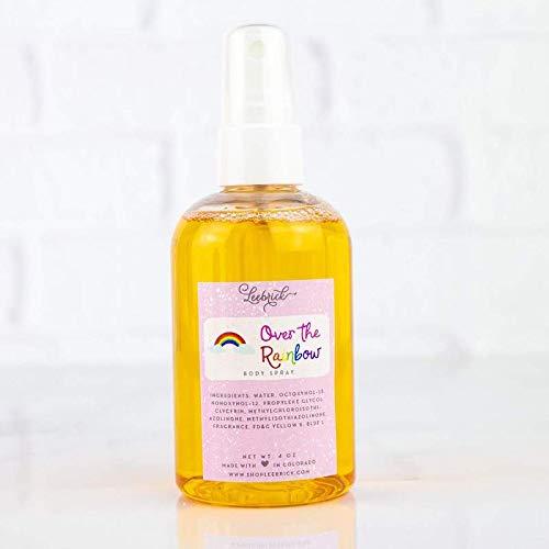 Over the Rainbow Scented Moisturizing Body Spray Oil Mist for Women - 4 - Pear Feminine Perfume