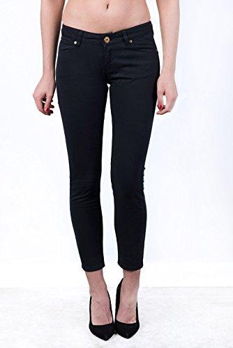 V&L - Pantalon Denim, Mujer, Color Azul, Talla 32