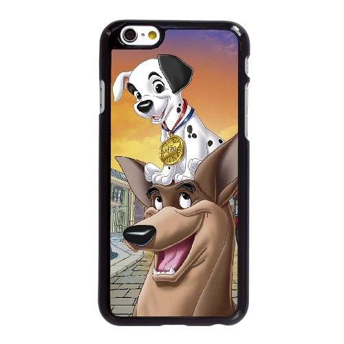 L1H10 Disney cent un dalmatiens Caractère Patch U6Q9KT coque iPhone 6 4.7 pouces cas de couverture de téléphone portable coque noire WU5BOF3KL