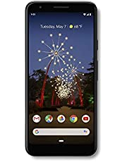 Google - Pixel 3a with 64GB Memory Cell Phone (Unlocked) - Just Black - G020G