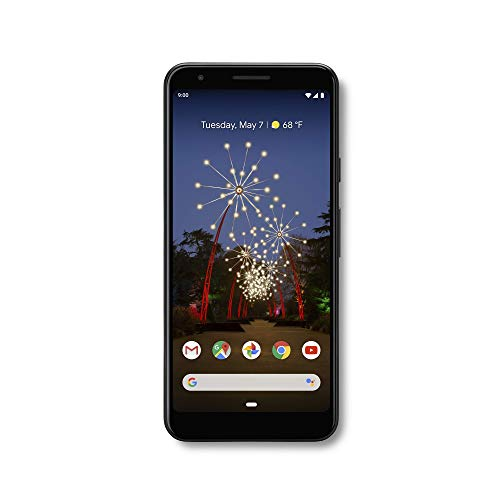 Google - Pixel 3a with 64GB Memory Cell Phone (Unlocked) - Just Black - G020G (Phone Nexus Google Cell Unlocked)