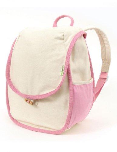 Eco-Friendly Cotton Kids Panda Bag in Cream