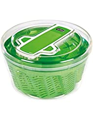 ZYLISS Swift Dry Salad Spinner, Large, Green