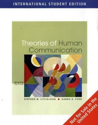 Theories of Human Communication (ISE)