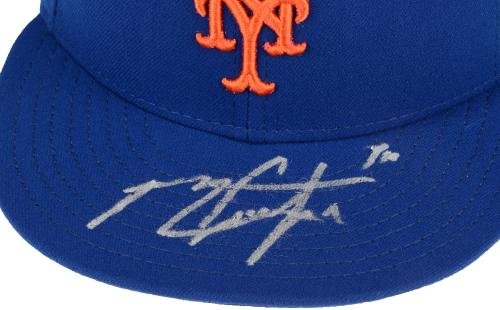 Michael Conforto New York Mets Autographed New Era Cap Fanatics Authentic Certified Autographed Hats