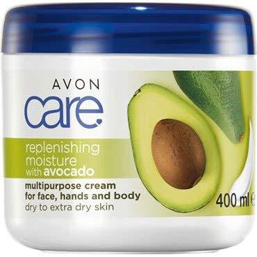 Avon Care Familycreme Avocado Mehrzweckcreme für Gesicht, Hände/Körper für trockene Haut